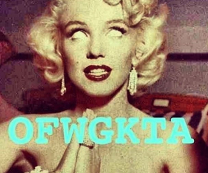ofwgkta, Marilyn Monroe, and odd future image