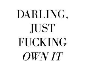 quote, darling, and motivation image
