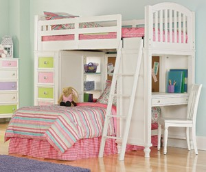 bunk bed and kids image