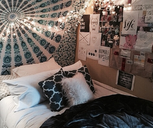 insperation, teen bedroom, and tumblr room image