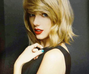 blonde hair, rare, and Taylor Swift image