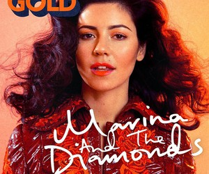 marina and the diamonds, gold, and froot image