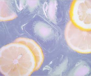 lemon, ice, and summer image