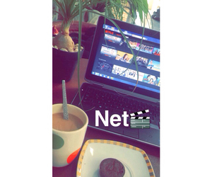 coffe, movie, and freetime image
