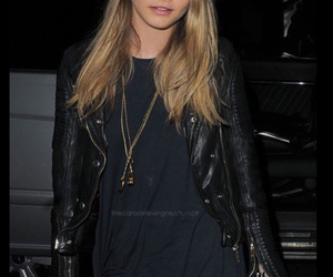cara delevingne, style, and blonde image