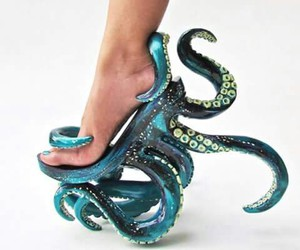 shoes and octopus image