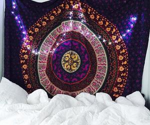 bohemian, mandala, and purple image