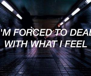 grunge, dark, and feelings image