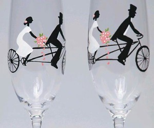 glass, wedding, and occassions image