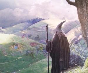 gandalf, fantasy, and hobbit image