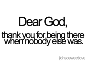 god, quote, and thank you image