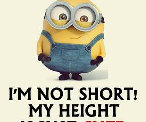 cute, minions, and short image