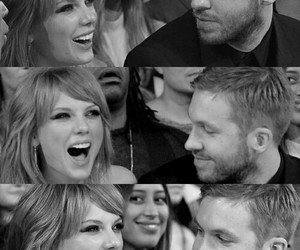 calvin harris, Taylor Swift, and love image
