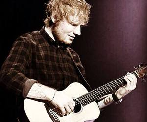 guitar, music, and ed sheeran image