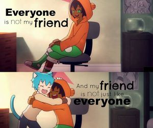 friend, amazing world of gumball, and quote image