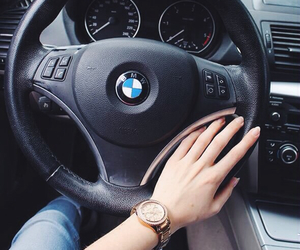 bmw, love, and driving image