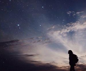 sky, stars, and travel image
