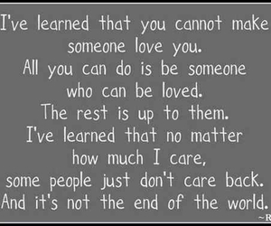 quote, care, and life image