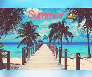 happy, holiday, and summer image