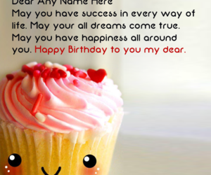 Cupcakes Happy Birthday And Wishes Image