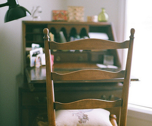 vintage, chair, and hipster image