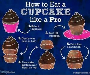 cupcakes, food, and life hacks image