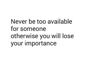 never and available image