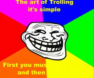 funny, lol, and trolling image