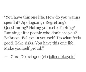 quote and cara delevingne image