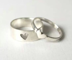 rings and heart image