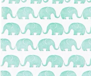 elephant, wallpaper, and blue image