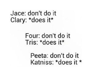divergent, fandom, and hunger games image