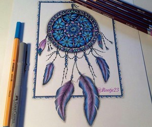 blue, draw, and purple image
