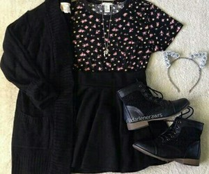 fashion, outfits, and clothes image