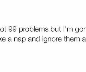 nap and problems image