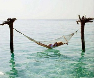 Dream, relax, and ocean image