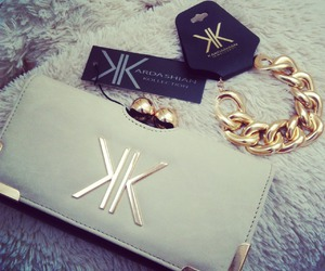fashion, kardashian, and gold image