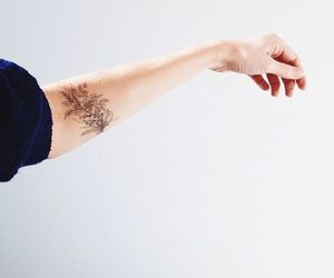 forearm tattoo, simple tattoo, and ink image
