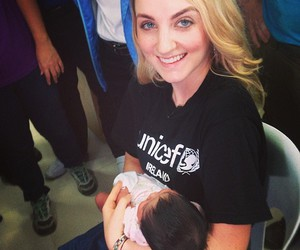 evanna lynch, baby, and UNICEF image