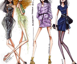 fashion, style, and draw image