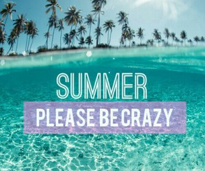 be, beach, and crazy image