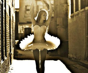 ballerina, dancer, and graceful image