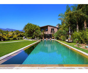 design, pool, and house image