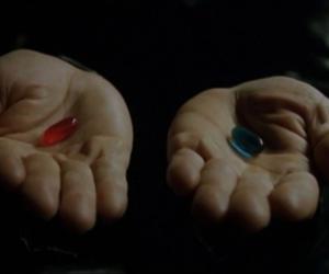 matrix, morpheus, and pills image