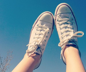 converse, sky, and all star image