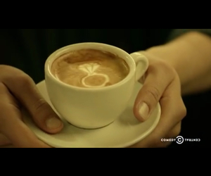 coffee, inside amy schumer, and latte art image