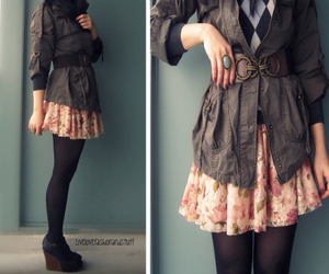 vintage, clothes, and fashion image