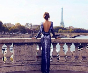 dress, paris, and style image