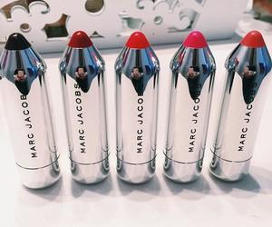 lipstick, marc jacobs, and makeup image