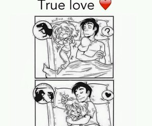 love, couple, and true image